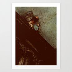 Waiting (2012 Version) Art Print