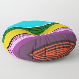 Serape 2 Floor Pillow