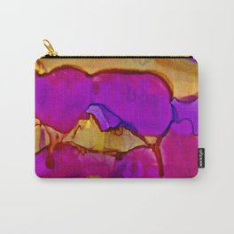 Vistas in Violet and Gold Carry-All Pouch