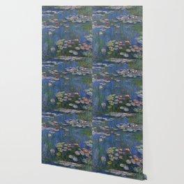WATER LILIES - CLAUDE MONET Wallpaper