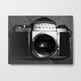 Dead Pentax SV - No Eye.. Metal Print