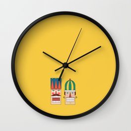 Day 09/25 Advent - Nut Crackin' Army Wall Clock