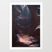 Upper Antelope Canyon-0487 Art Print