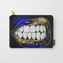 Show Me Your Teeth Carry-All Pouch