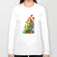 poison ivy Long Sleeve T-shirts featuring Poison Ivy by aken