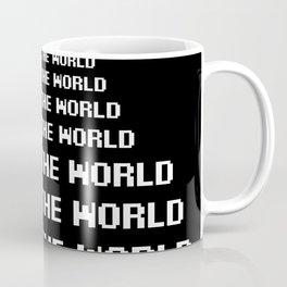 around the world black art print Coffee Mug