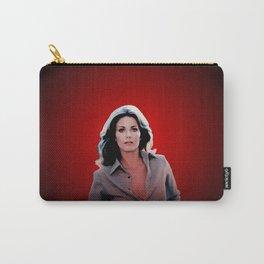 Lynda Carter - Celebrity (Oil Paint Art) Modern Style Carry-All Pouch