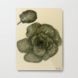 Collard Greens Metal Print