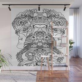 FaceArt Wall Mural