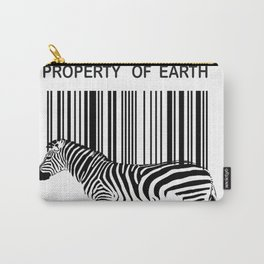 Property of Earth Carry-All Pouch