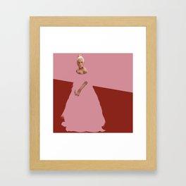 red carpet Framed Art Print