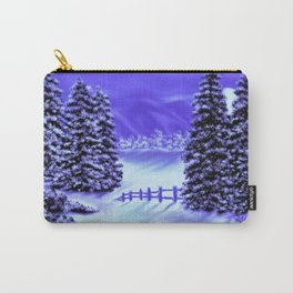 Moon Over The Mountain Carry-All Pouch
