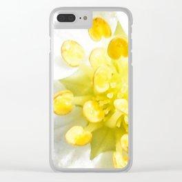 Yellow Stamen Sunshine | Flower | Nadia Bonello Clear iPhone Case