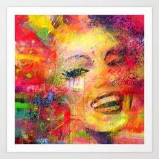 Meryli Monroe Art Print