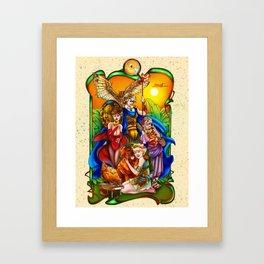 The Golden Goddesses  Framed Art Print