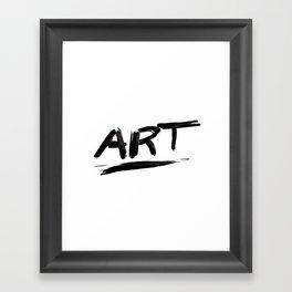 ART Framed Art Print