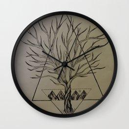 Geo Nature Wall Clock
