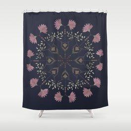 Henrietta Medallion Shower Curtain