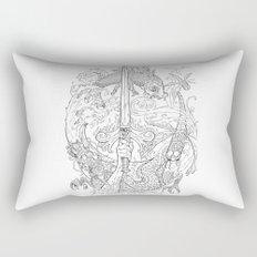 The Eye of the Storm Rectangular Pillow
