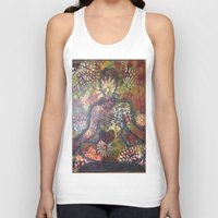 namaste Tank Tops featuring Namaste by Tiffany Alcide