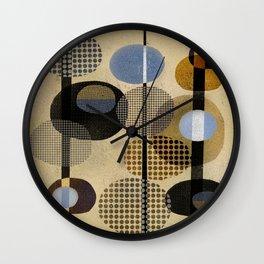 OVALS Wall Clock
