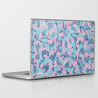 sylveon Laptop & iPad Skins featuring Sylvia by Leah Moloney