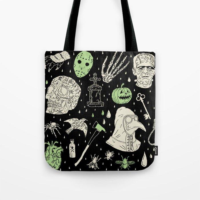Whole Lot More Horror Blk Ed Tote Bag