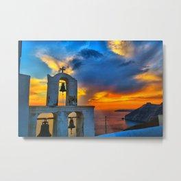Santorini 9 Metal Print