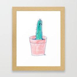 Cactus. Framed Art Print