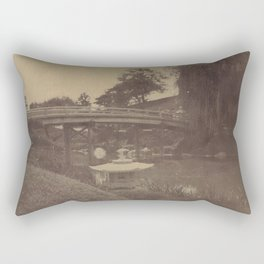 Japanese Bridge Rectangular Pillow
