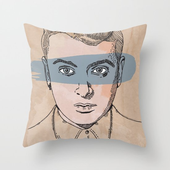 """In The Lonely Hour"" by Jacob Livengood Throw Pillow"
