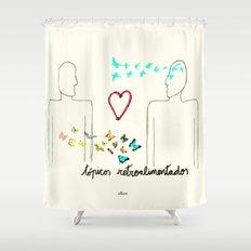 Tópicos retroalimentados Shower Curtain
