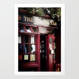 ... temple bar ... Art Print
