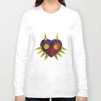 majora Long Sleeve T-shirts featuring Majora by Bradley Bailey