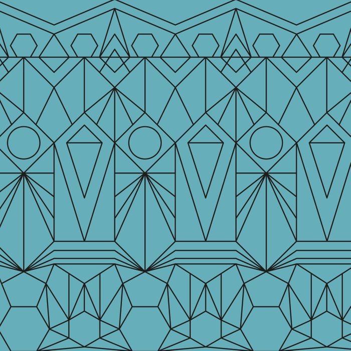 My Favorite Pattern 10 Duvet Cover