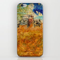 WHEN THE DUST SETTLES iPhone & iPod Skin