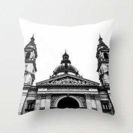 St. Stephen's Basilica. Throw Pillow