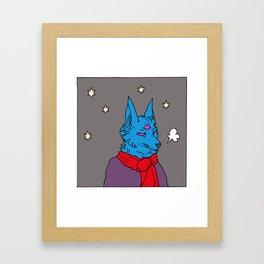 temperature drop Framed Art Print