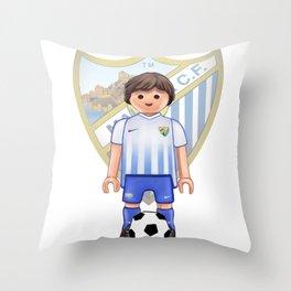 Playmobil Málaga CF Throw Pillow
