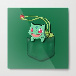 Bulba in the Poket Metal Print