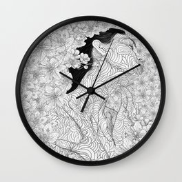 Muse and Creation Wall Clock