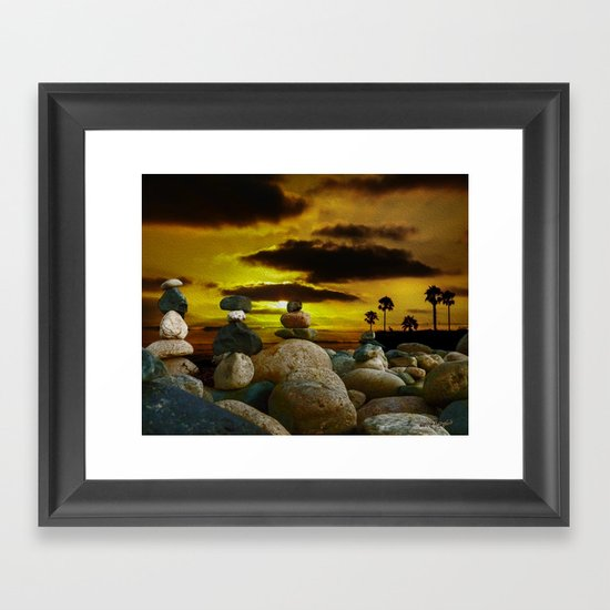 Memories in the Twilight Framed Art Print