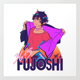 3615 FUJOSHI Art Print