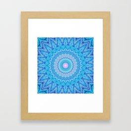 Frosty Opalescence Framed Art Print