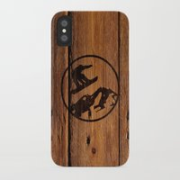 snowboarding iPhone & iPod Cases featuring snowboarding 3 by Paul Simms