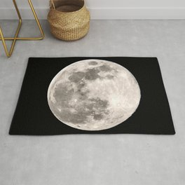 March Super Moon Rug