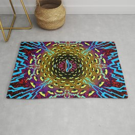 Welcome the invader Rug
