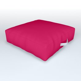 Bright Pink Peacock 2018 Fall Winter Color Trends Outdoor Floor Cushion