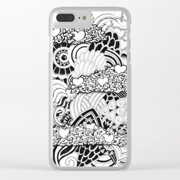 Imagination Clear iPhone Case