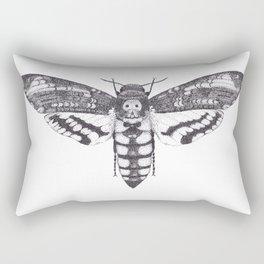 Acherontia atropos (death's-head hawkemoth) Rectangular Pillow